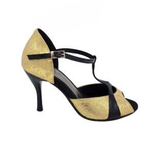 scarpe da tango oro