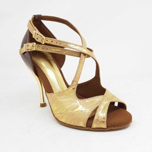 scarpa da ballo oro