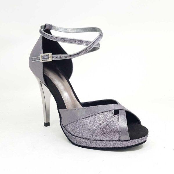 scarpe da ballo grigie
