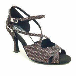 scarpa da ballo con 2 cinturini
