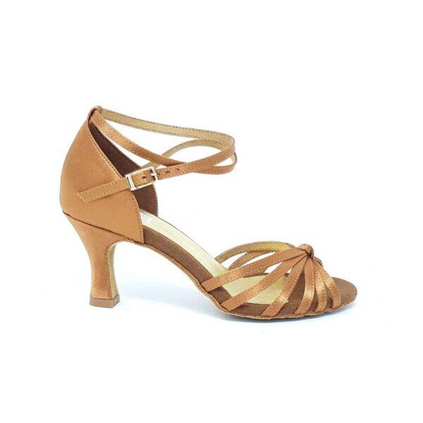 scarpe da ballo flesh con nodo