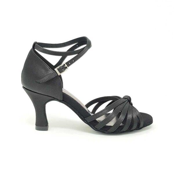scarpe da ballo nere con nodo