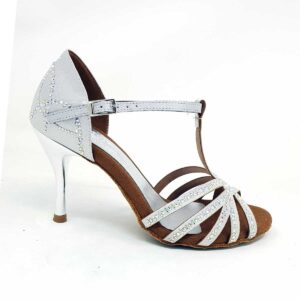 dance shoes silver