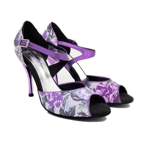 outlet scarpe da ballo floreali