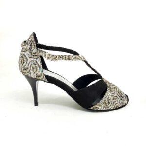 scarpe da ballo argento LIDMAG