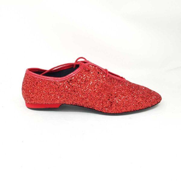 scarpe jazz da ballo rosse