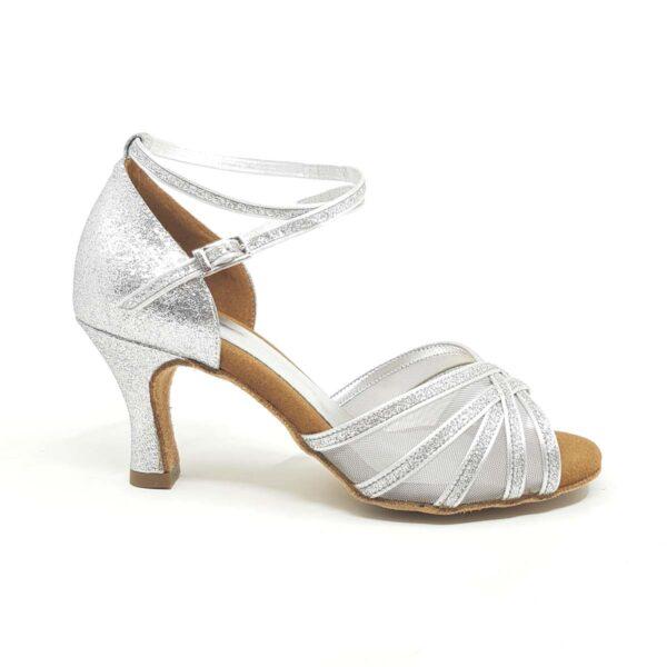 scarpe da ballo argento