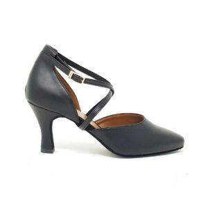scarpe da ballo liscio nere