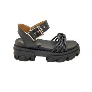 sandali donna neri
