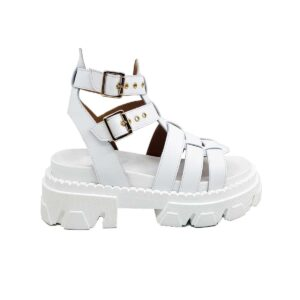 sandalo da donna bianco prada