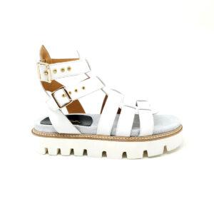 sandalo bianco donna