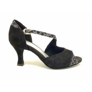 scarpa da ballo nera