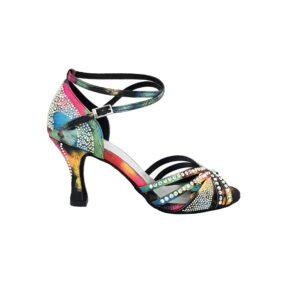 scarpe da ballo con brillantini