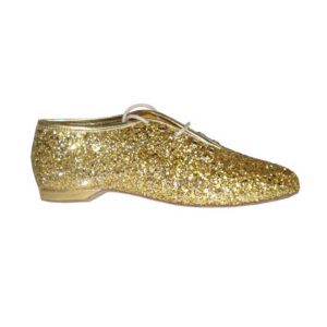 scarpe jazz da ballo oro
