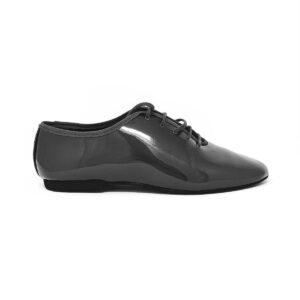 scarpe jazz vernice nera